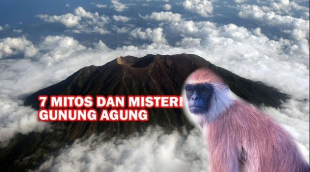 Misteri Gunung Agung Bali Yang Masih di Percayai Warga Lokal