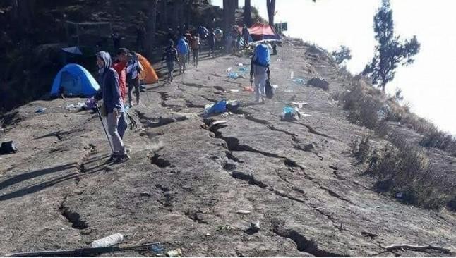 Gempa di Lombok, Ada 500 Pendaki Terjebak di Pelawangan dan Segara Anak