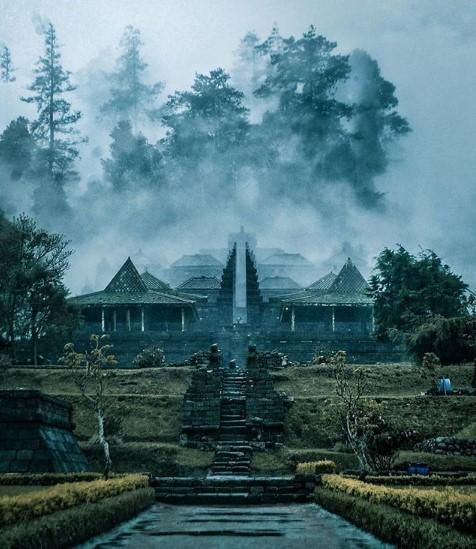 Candi Cetho Wisata Mistis Dan Romantis Di Lereng Gunung Lawu Gunung